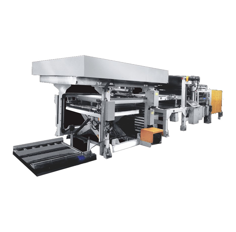 Automatic separation packaging line