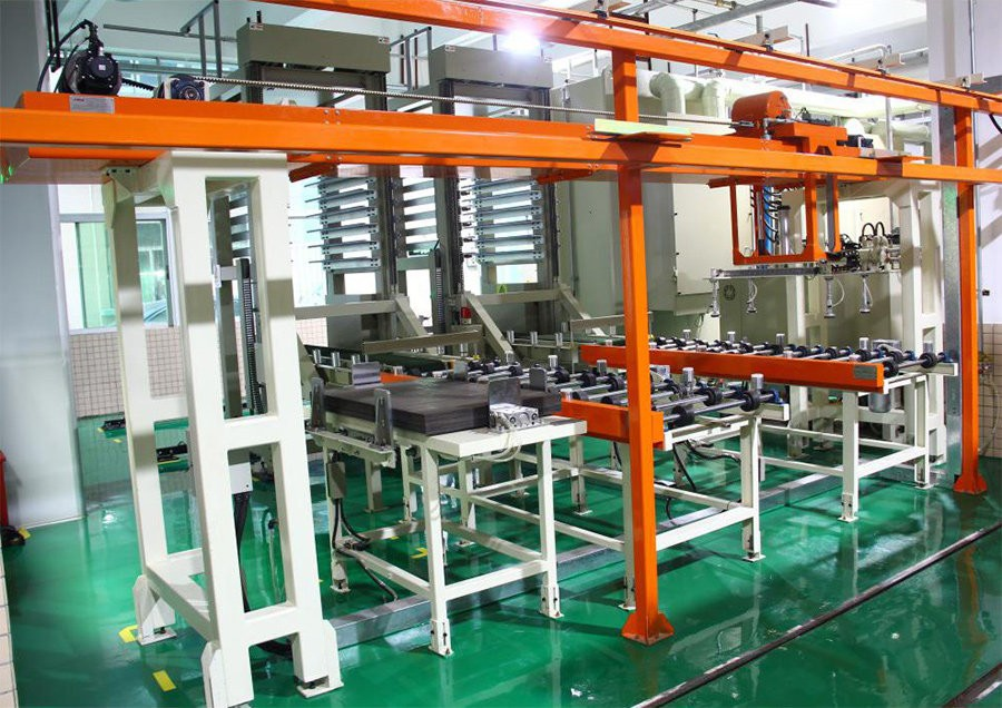 Complete sets of automatic production line